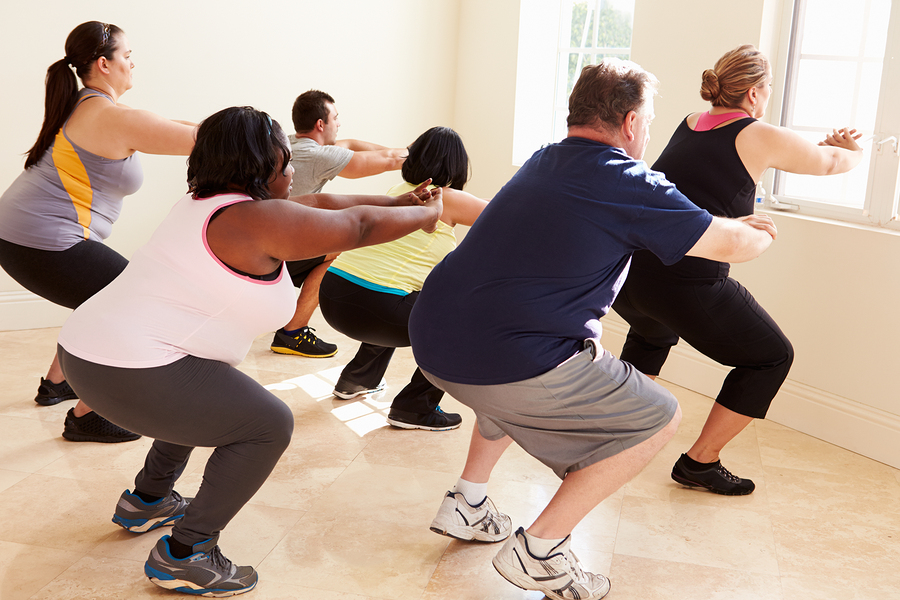 Overweight Beginners In Exercising Workouts For Setting A Training Routine Healthgoesup Com