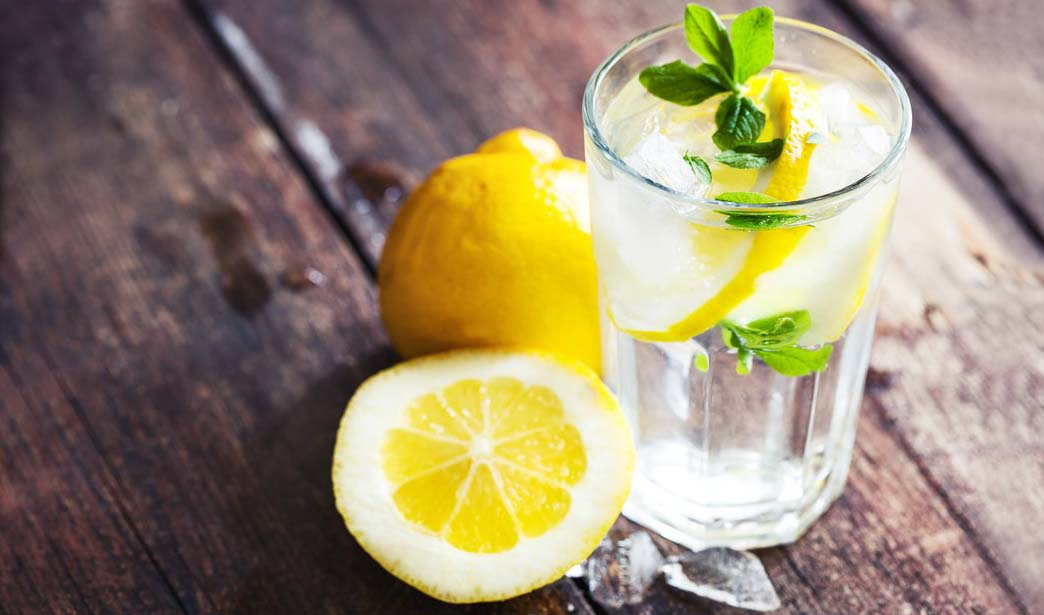 Image result for water with lime or lemon in rome cafes