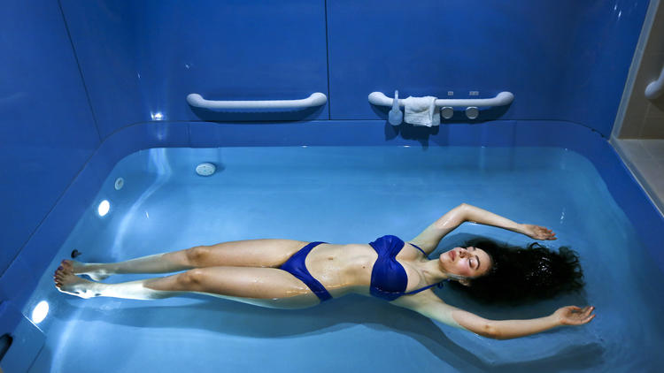 Float Therapy: Let Your Troubles Float away